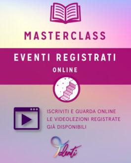 Masterclass Eventi Registrati