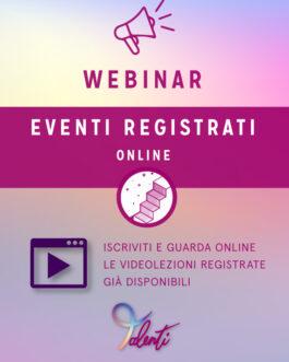 Webinar Registrati