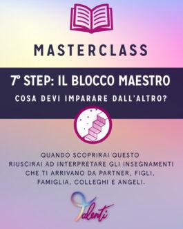 Masterclass Live – SUL BLOCCO MAESTRO