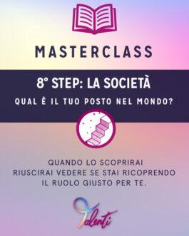 Masterclass Live – SULLA SOCIETÀ